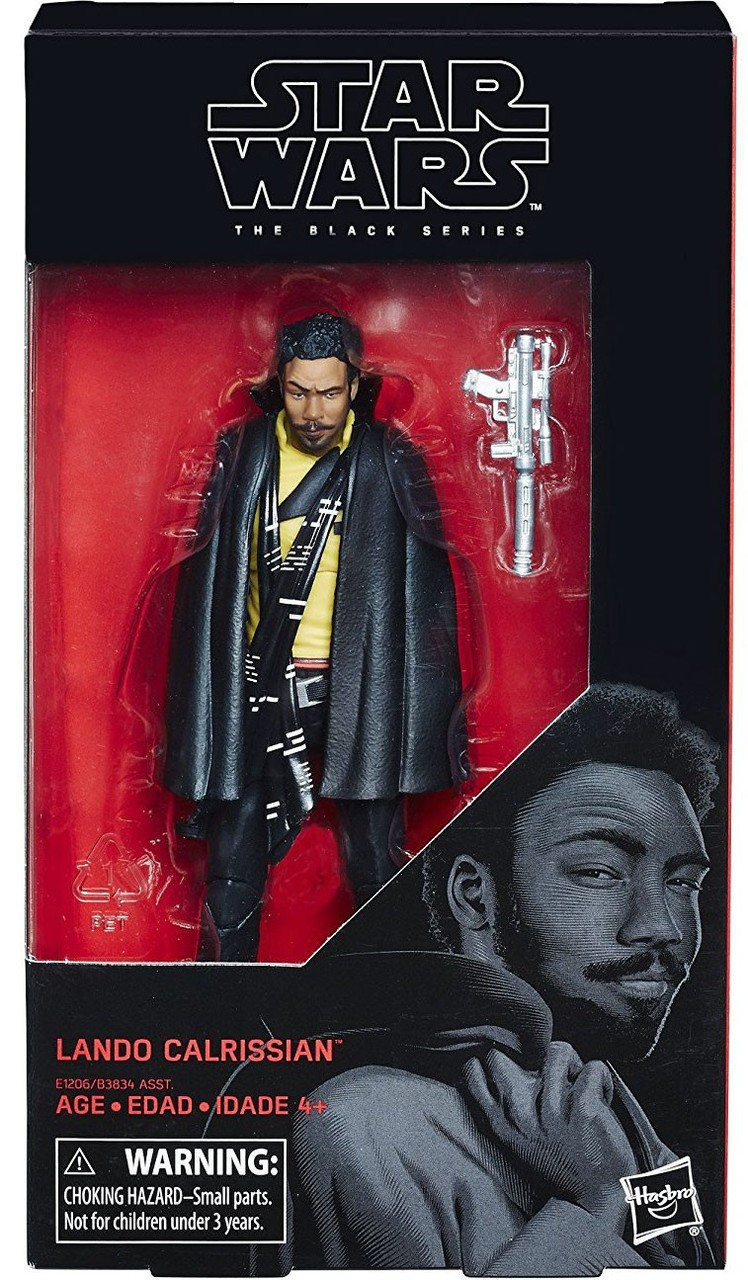 b354c0dc Solo A Star Wars Story Black Series Lando Calrissian 6 Action Figure ...
