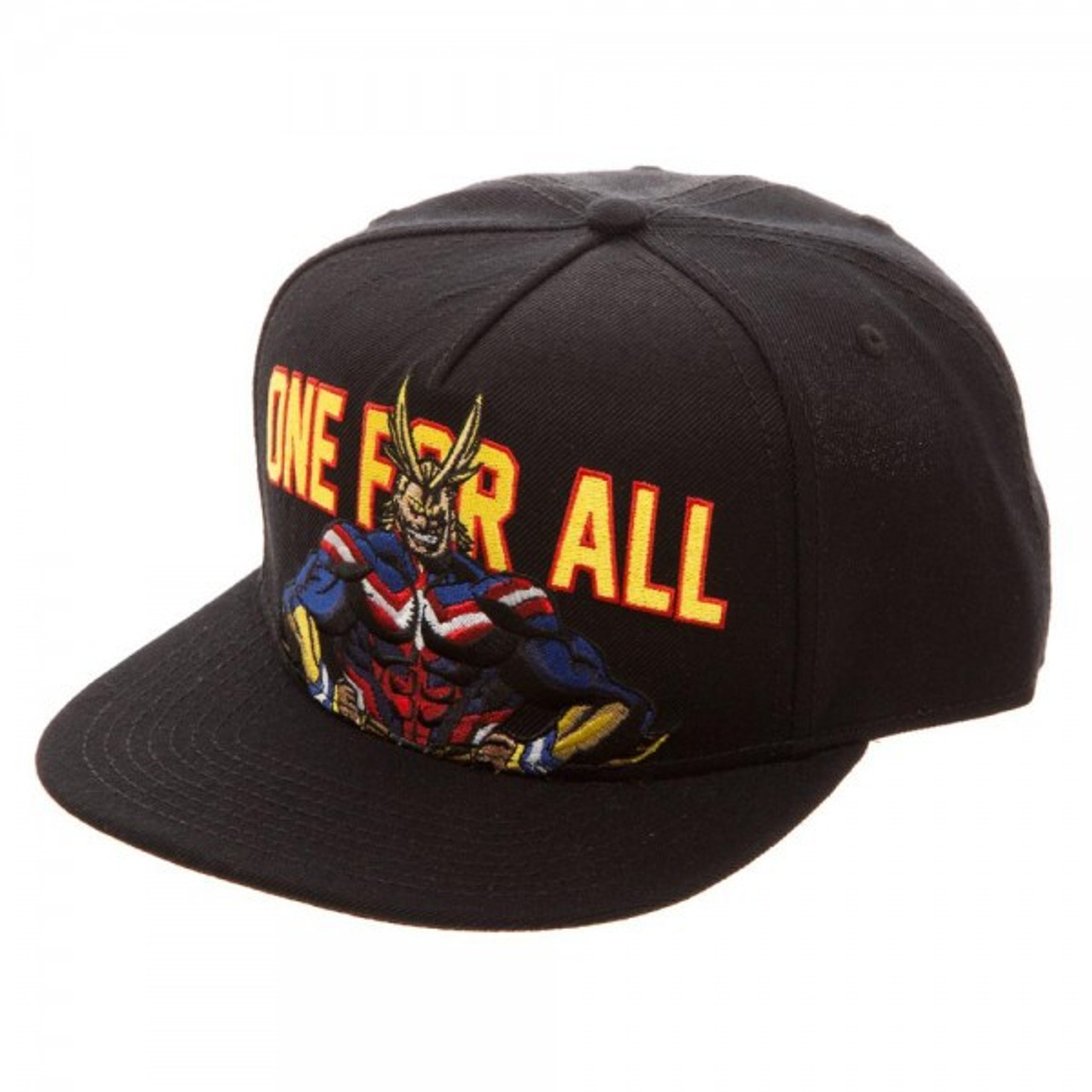 My Hero Academia All Might Snapback Cap One for All Bioworld - ToyWiz 81e5f6c8650