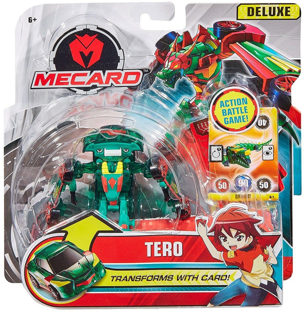 56250f63f64 MeCard Deluxe Mecardimal Tero Figure Mattel - ToyWiz