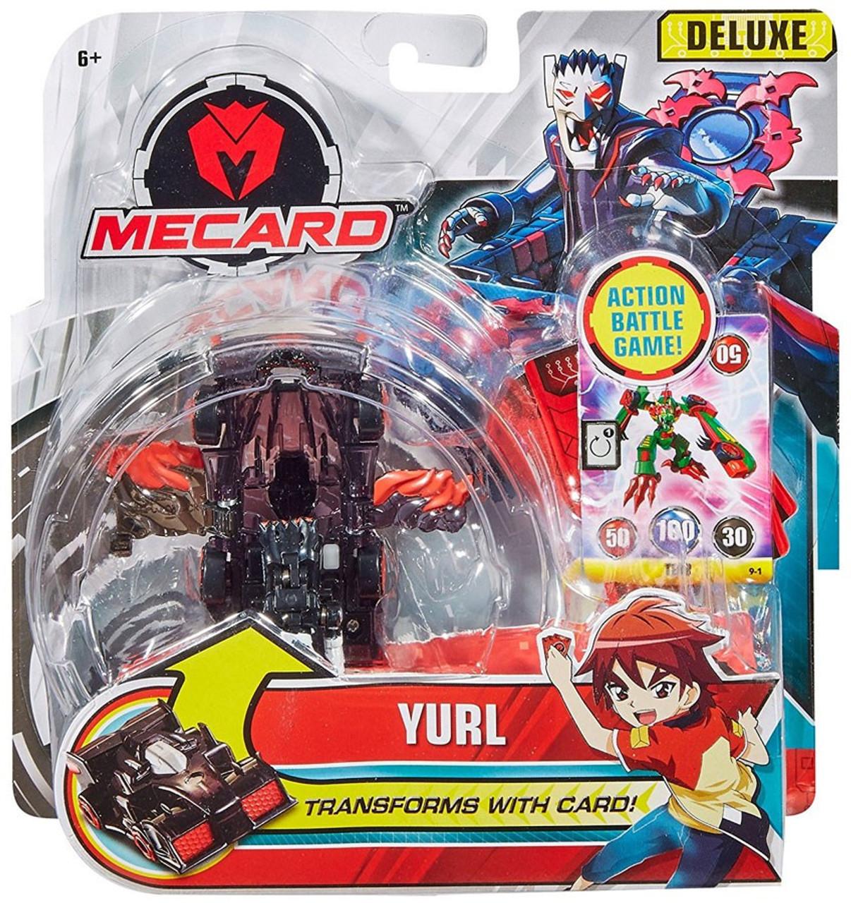 6266af797ba MeCard Deluxe Mecardimal Yurl Figure Mattel - ToyWiz