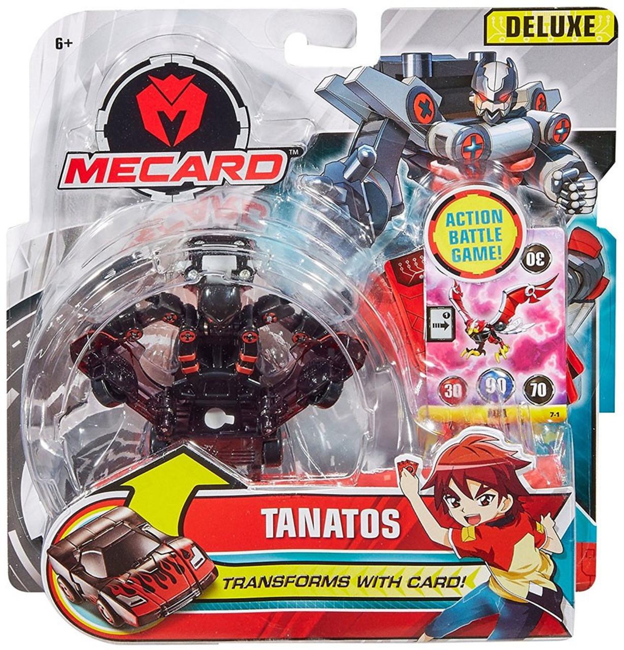 690ad3cf4eb MeCard Deluxe Mecardimal Tanatos Figure Mattel - ToyWiz