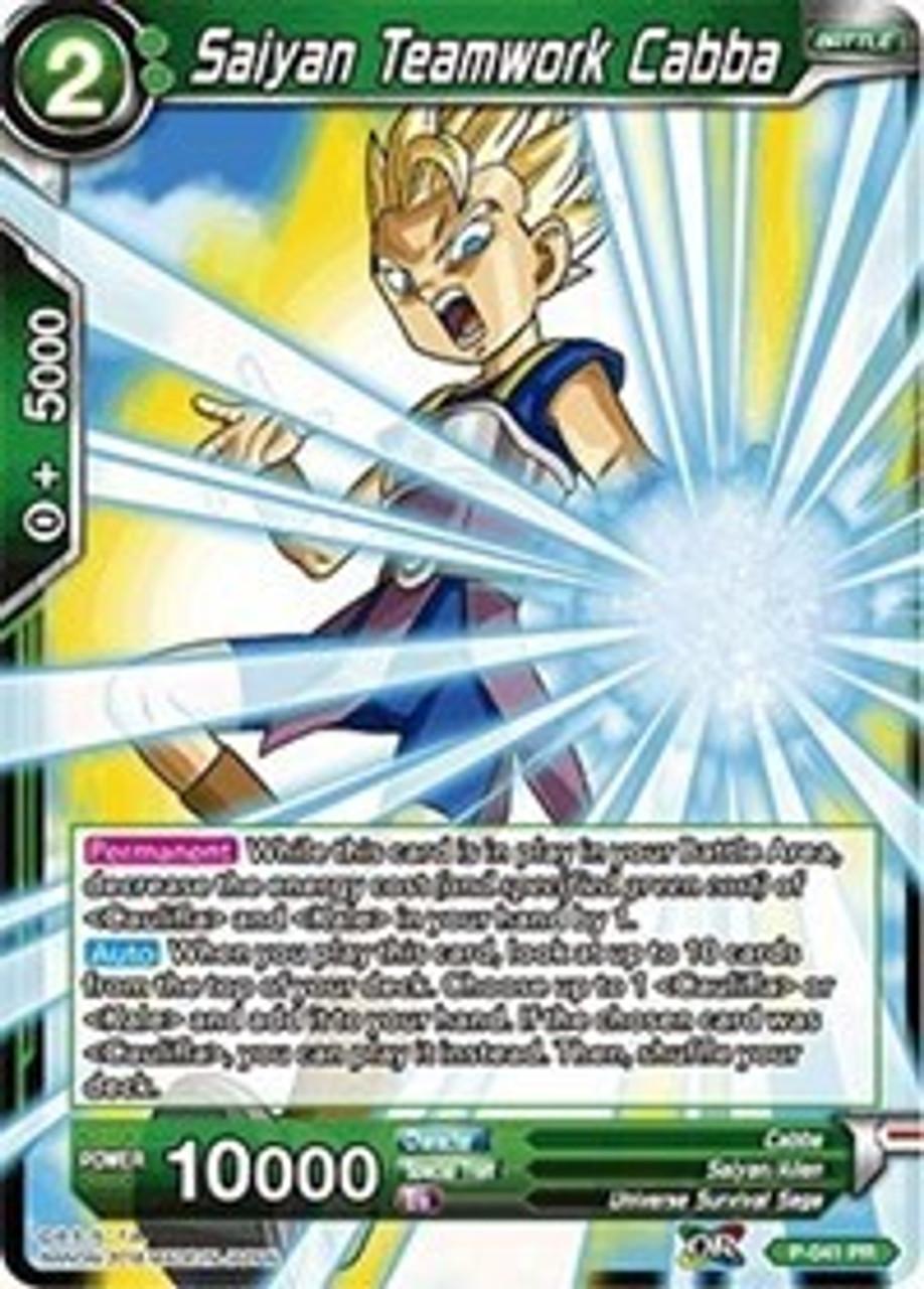 Promo Foil Prodigious Strike Super Saiyan Gotenks P-027 PR Dragonball Super