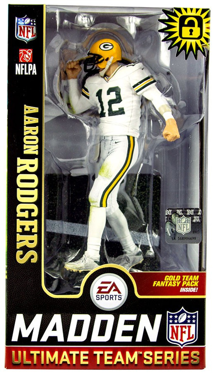 9c5f03681 McFarlane Toys NFL Green Bay Packers EA Sports Madden 19 Ultimate Team  Series 1 Aaron Rodgers