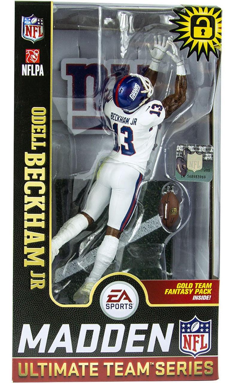 0b9f1b594 McFarlane Toys NFL New York Giants EA Sports Madden 19 Ultimate Team Series  1 Odell Beckham Jr. 7 Action Figure - ToyWiz