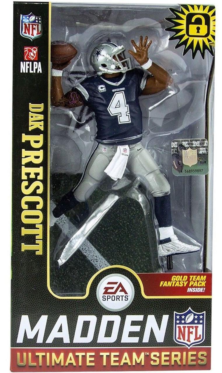 13b57194a McFarlane Toys NFL Dallas Cowboys EA Sports Madden 19 Ultimate Team Series 1  Dak Prescott 7 Action Figure - ToyWiz
