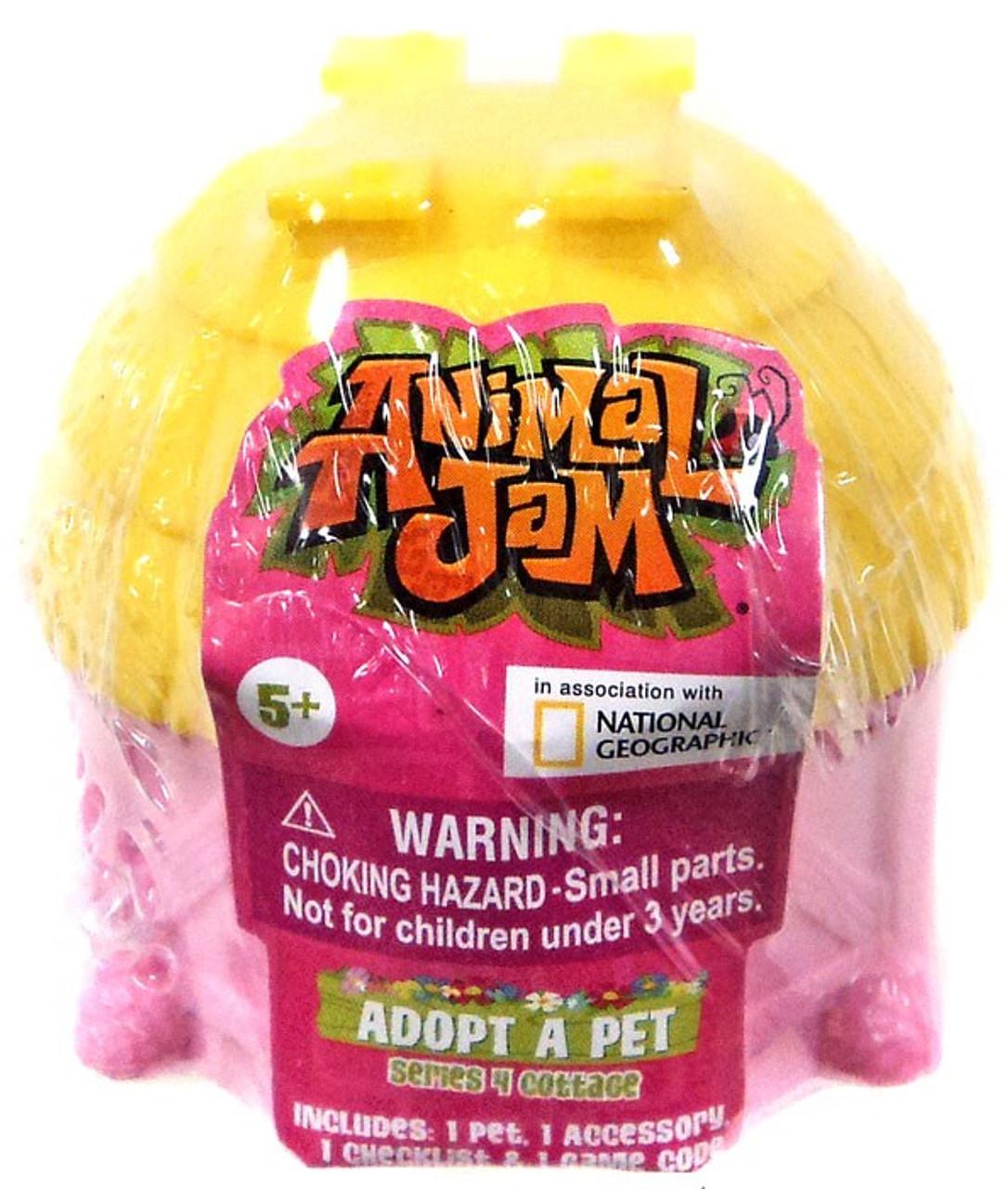 Animal Jam Magnet Card 4 Mystery Packs