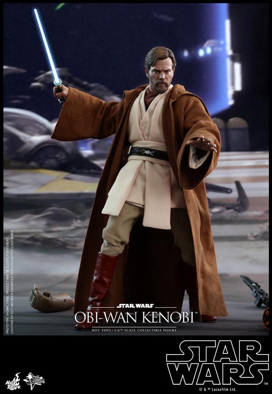 Star Wars Revenge Of The Sith Movie Masterpiece Obi Wan Kenobi 16 Collectible Figure Mms477 Regular Version Hot Toys Toywiz