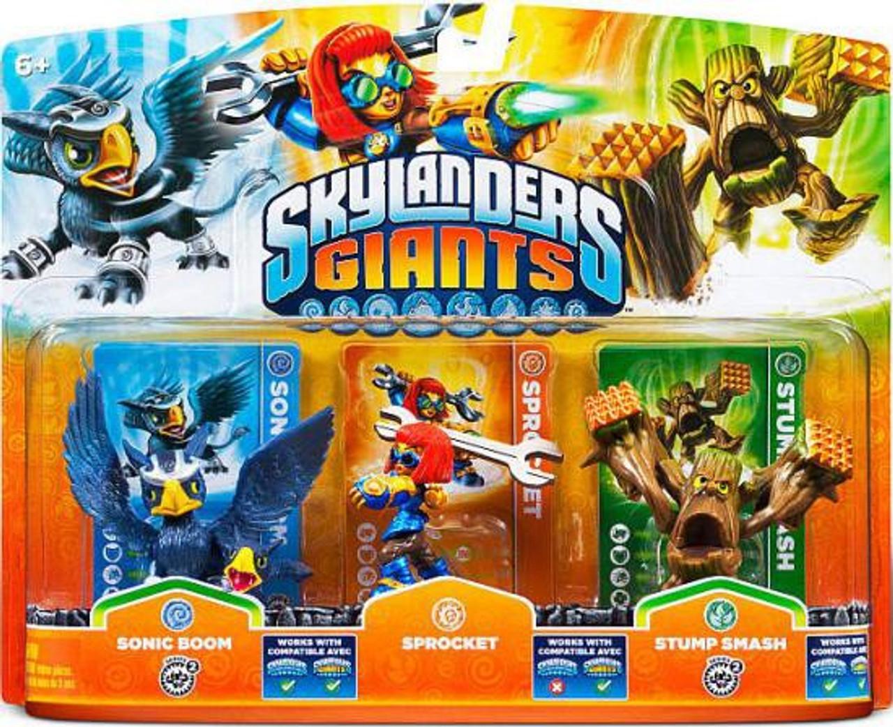 See Description For Special Offer! Set Of 6 Giants Skylanders Spyro Giants