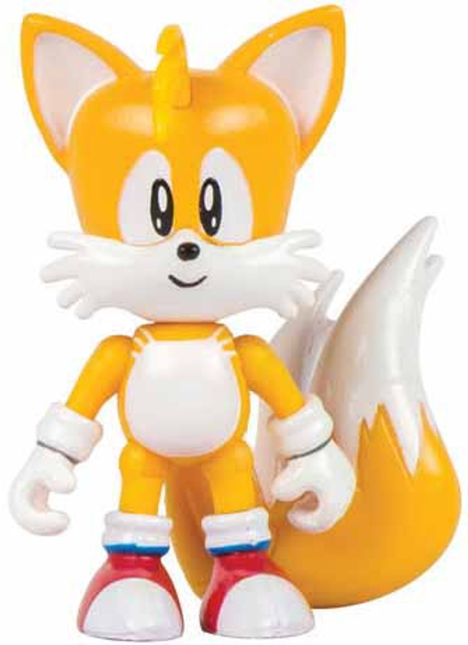 Sonic The Hedgehog Classic Tails 3 Action Figure Loose Tomy Inc Toywiz