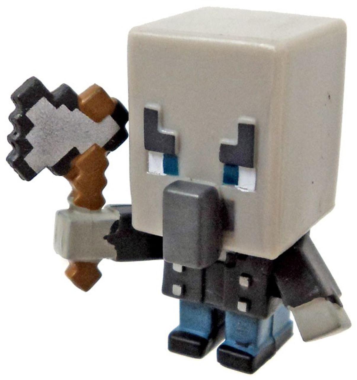 Minecraft Wood Series 10 Vindicator Minifigure Loose Mattel Toys