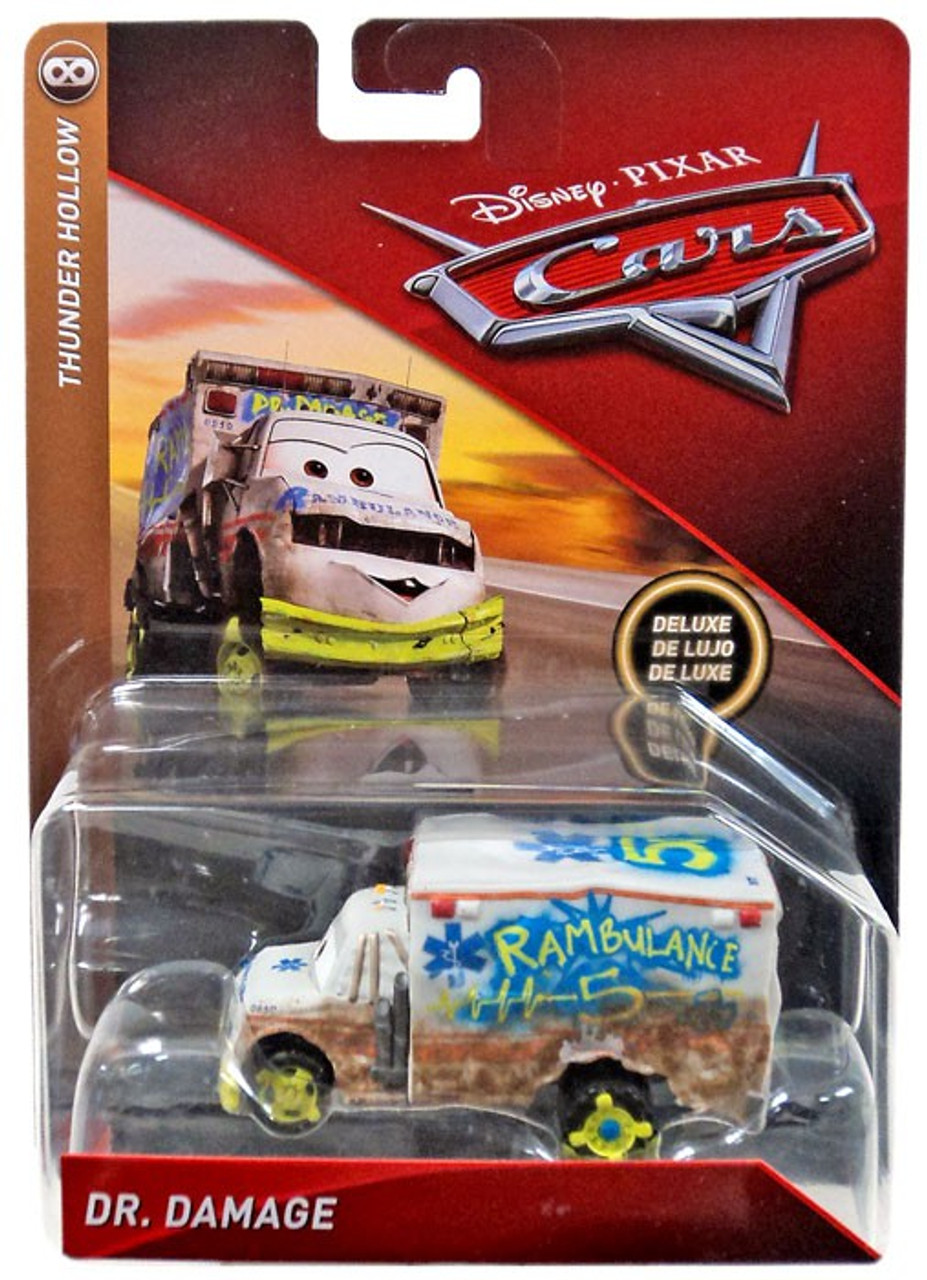 Disney pixar cars cars 3 thunder hollow dr damage 155 diecast vehicle mattel toys toywiz - Coloriage cars 3 thunder hollow ...
