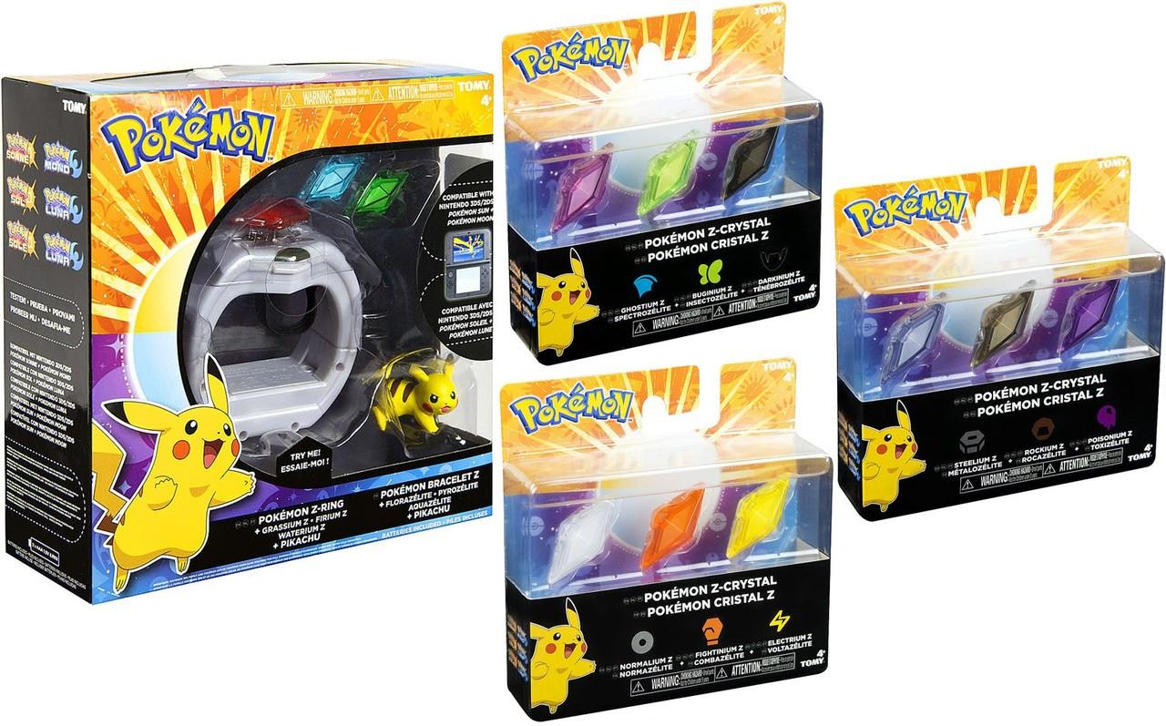 Pokemon Z-Ring Ultimate Set [Z-Ring & 3 Crystal 3-Packs!]
