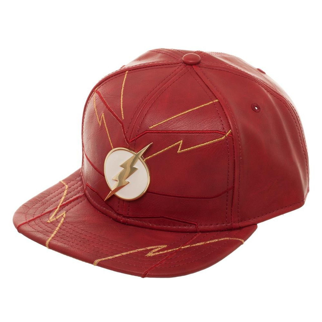 c0dbcb61c69 DC The Flash Flash Rebirth Suit Up Snapback Cap Bioworld - ToyWiz