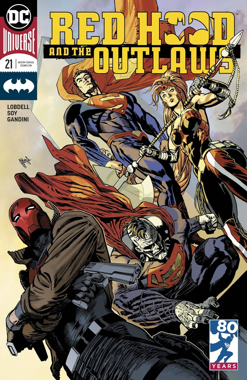 Dc Red Hood And The Outlaws Comic Book 21 Variant Cover Dc Comics Toywiz