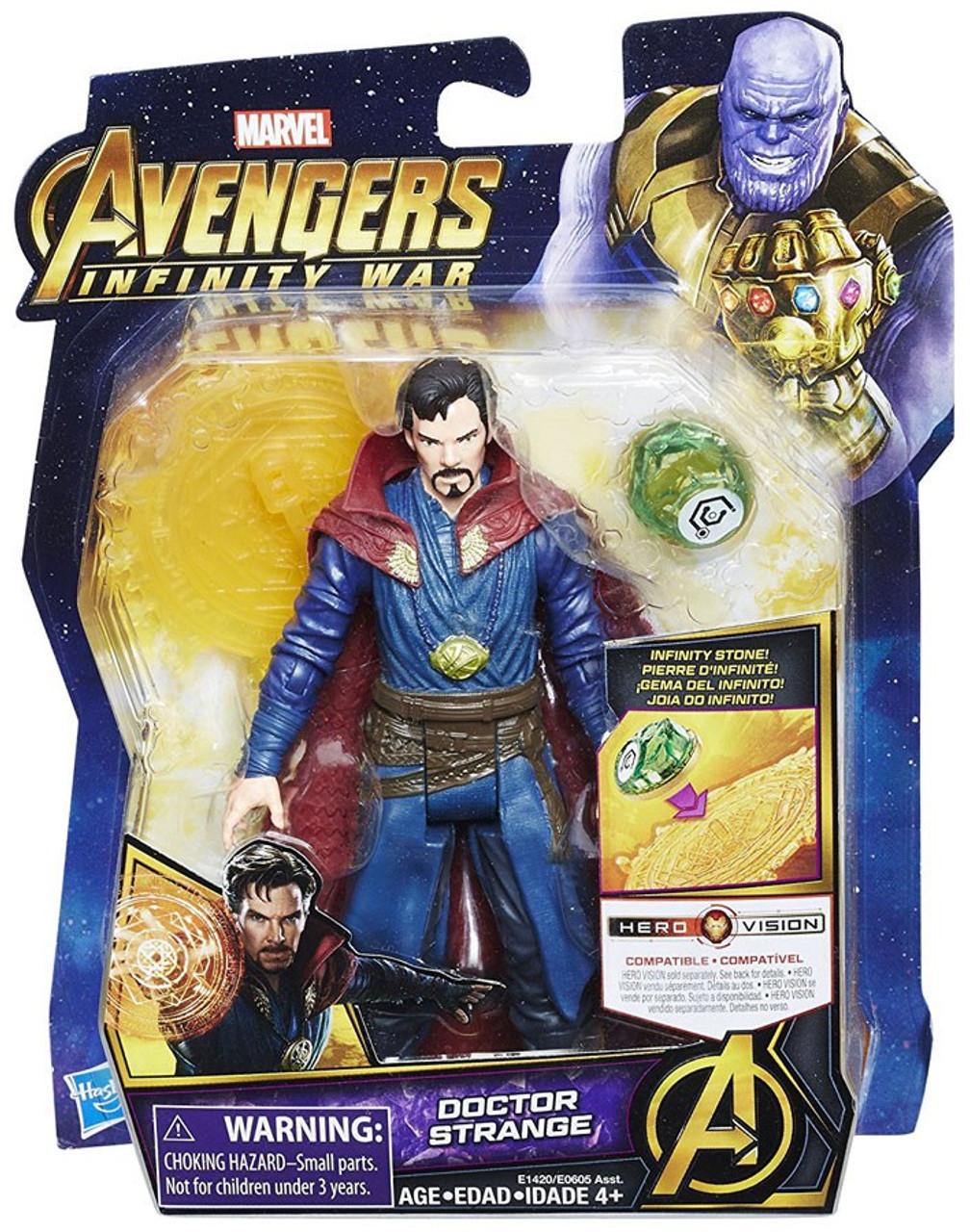 Infinity War Doctor Strange with Infinity Stone Hasbro E1420 Marvel Avengers