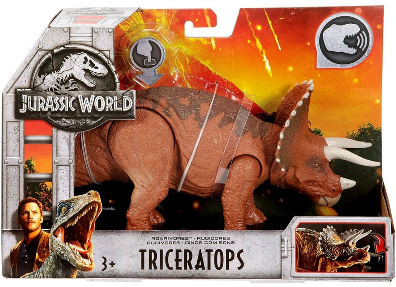 Jurassic World ROARIVORES TRICERATOPS ACTION FIGURE Fallen Kingdom