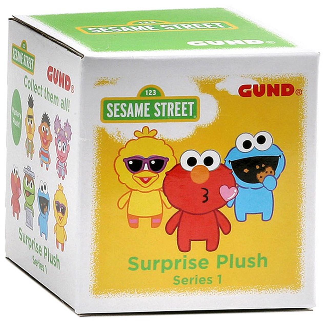 Sesame Street Surprise Plush 3-Inch Mystery Pack