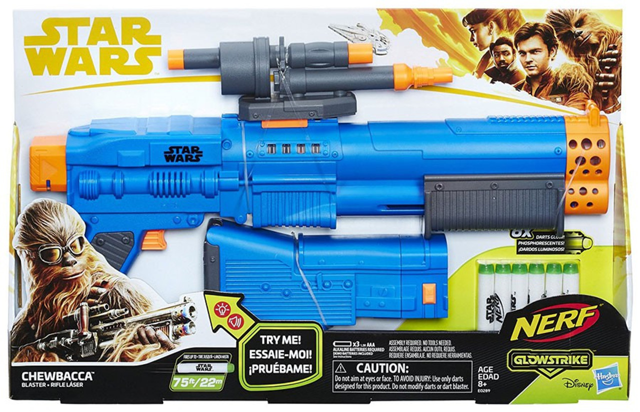 Solo A Star Wars Story Nerf Chewbacca Blaster