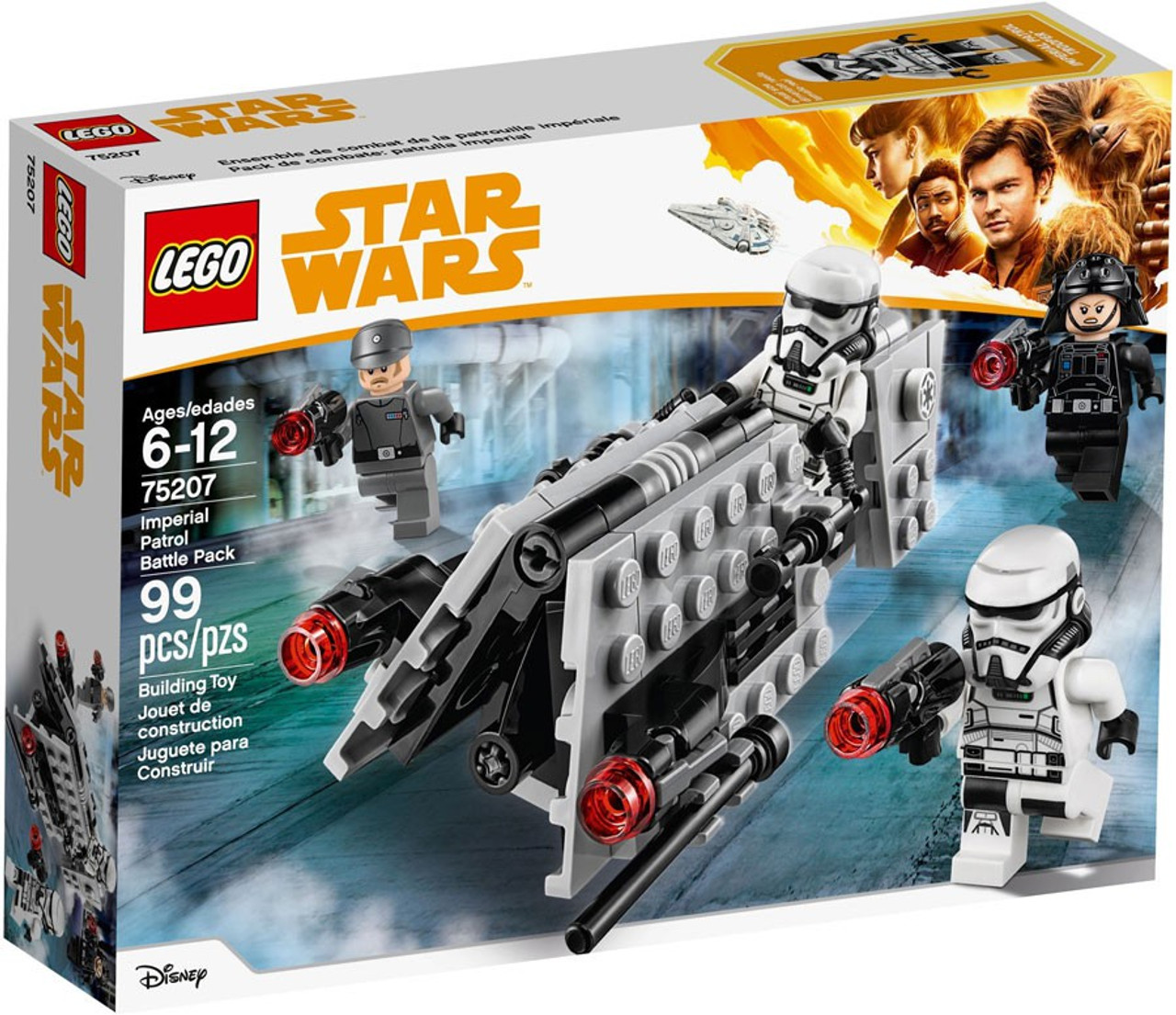 Lego Solo A Star Wars Story Imperial Patrol Battle Pack 75207