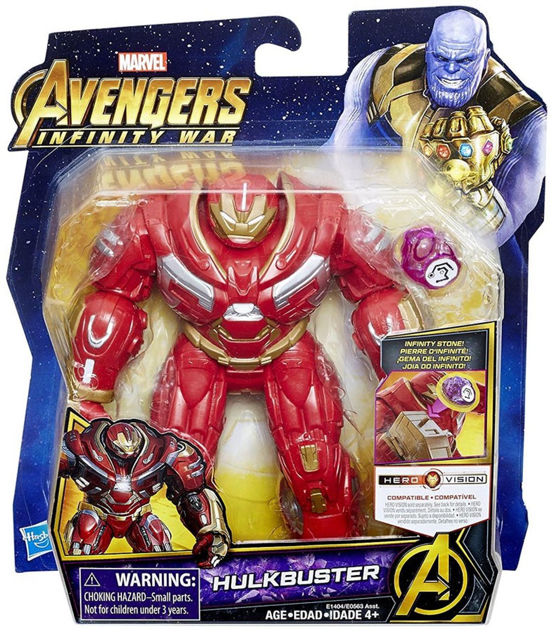 7ffa550644c Marvel Avengers Infinity War Hulkbuster Action Figure with Stone ...