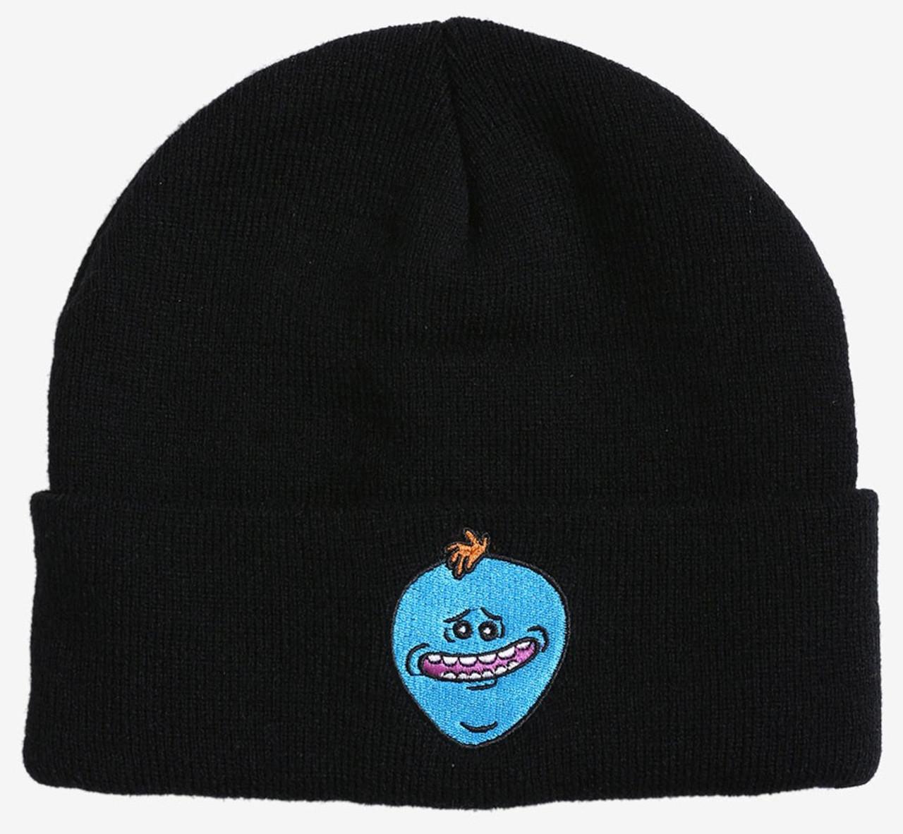 4809b09b0e6 Rick Morty Mr. Meeseeks Exclusive Beanie Hat Bioworld - ToyWiz