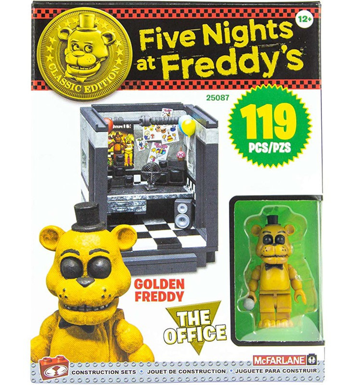 Five Nights at Freddy/'s The Office Small Construction Set Classic Edition