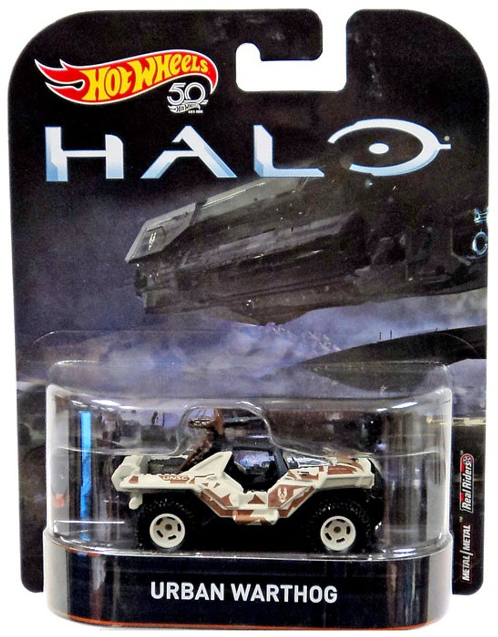 Hot Wheels Halo Urban Warthog Die-Cast Car
