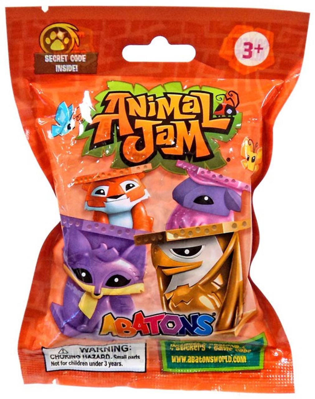 Image of: Membership National Geographic Kids Animal Jam Abatons Mystery 4pack Orange Jazwares Toywiz