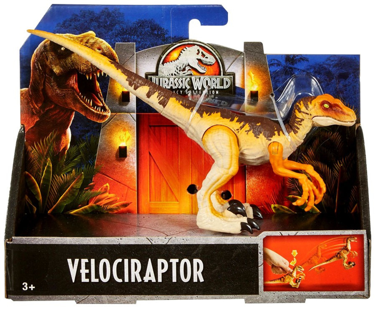 Jurassic World Fallen Kingdom Legacy Collection Velociraptor Action Figure NEW!