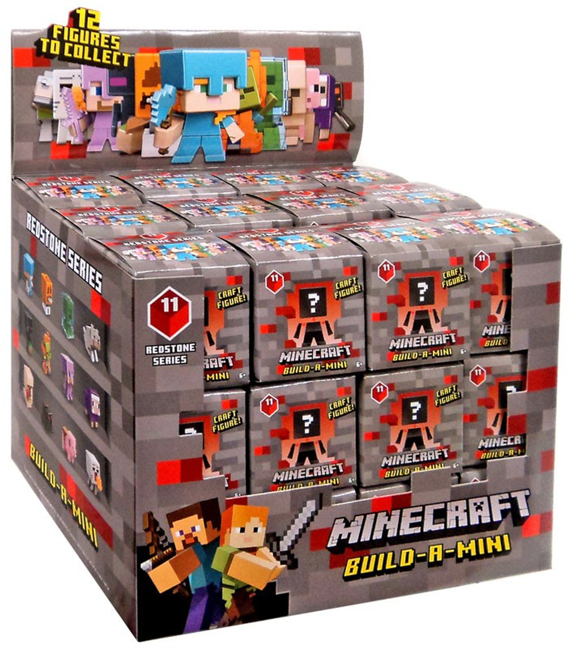 Minecraft Mystery Figure Box Series 11 Redstone
