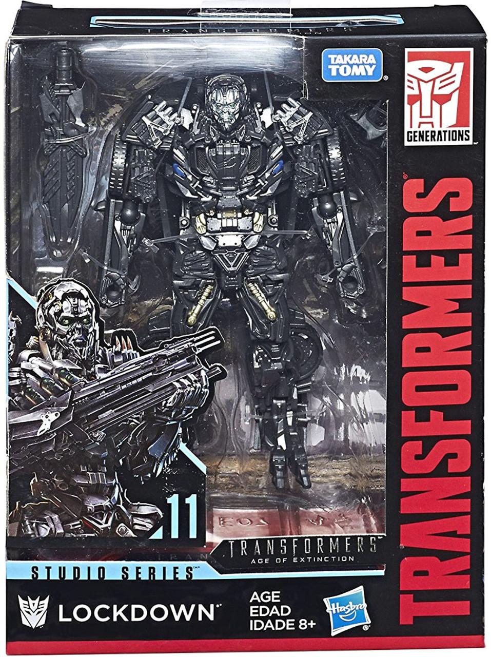 Transformers Generations Studio Series Lockdown Deluxe Action Figure 11 Hasbro Toys Toywiz