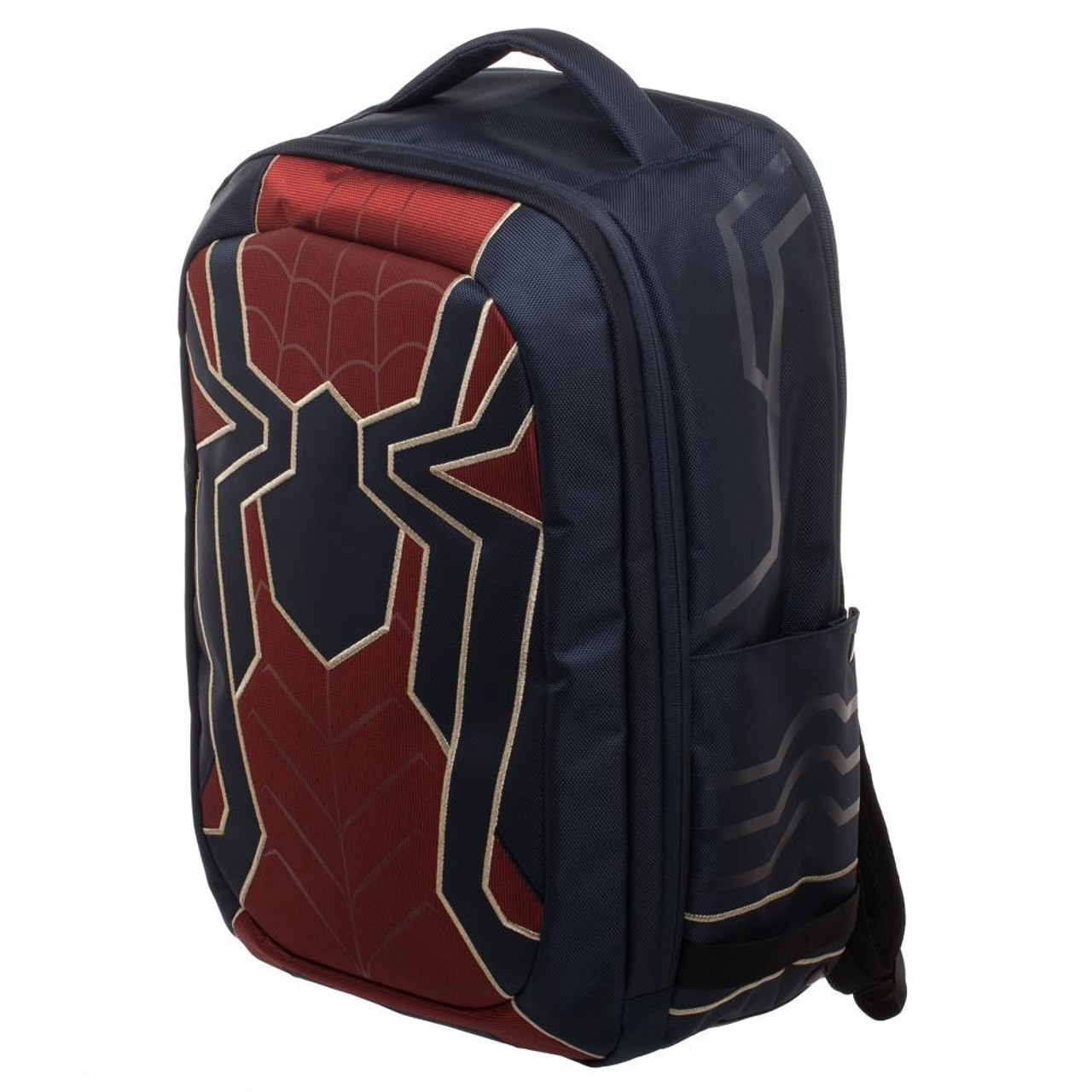 5a7421ca2e Marvel Avengers Infinity War Iron Spider Built Up Laptop Backpack Bioworld  - ToyWiz