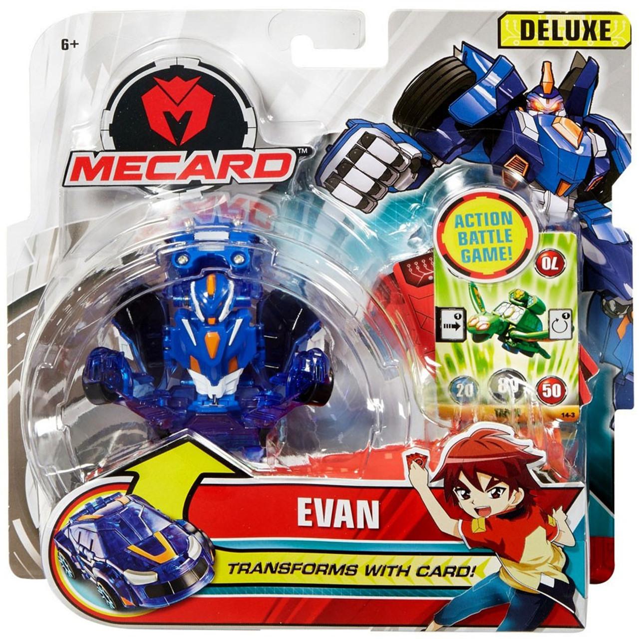 b42ac97ef18 MeCard Deluxe Mecardimal Evan Figure Mattel - ToyWiz