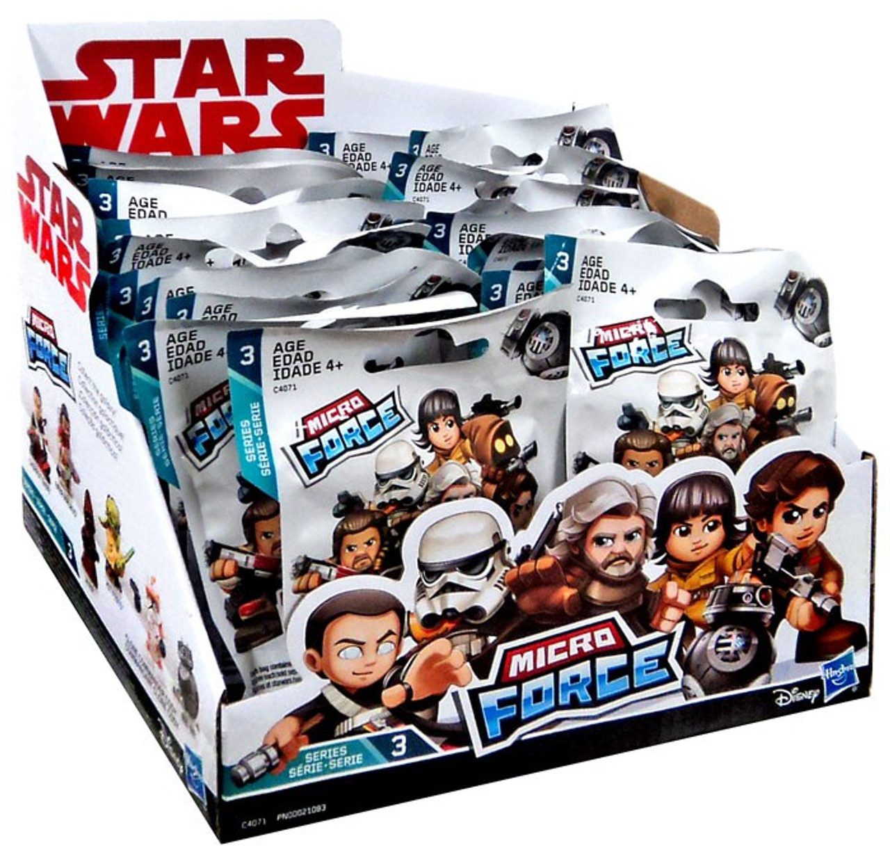 Lot of 5 Star Wars Micro Force Mini Figures Blind Bags-Choose from Series1,2,3,4