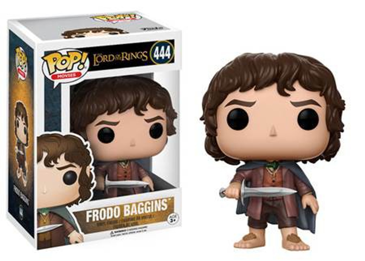 IN STOCK Funko POP Frodo Baggins Vinyl Figure #444 Lord of the Rings
