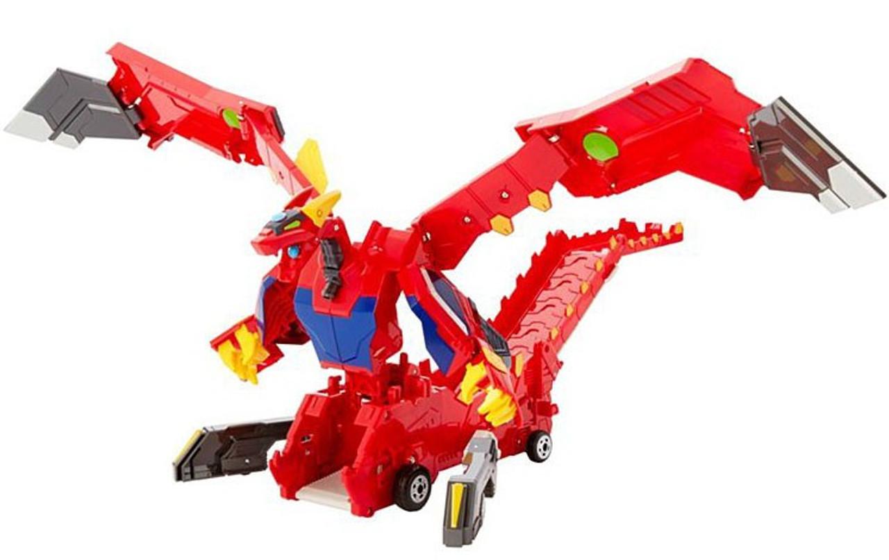 6fbd4cb9645 MeCard Deluxe Transforming Mecardimal Mega Dracha Figure Mattel - ToyWiz