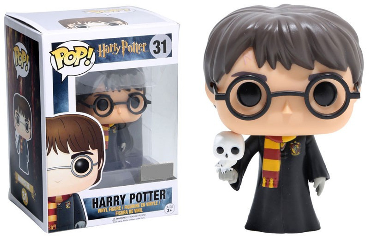 fc07bc02444 Funko Harry Potter Funko POP Movies Harry Potter Exclusive Vinyl Figure 31  with Hedwig