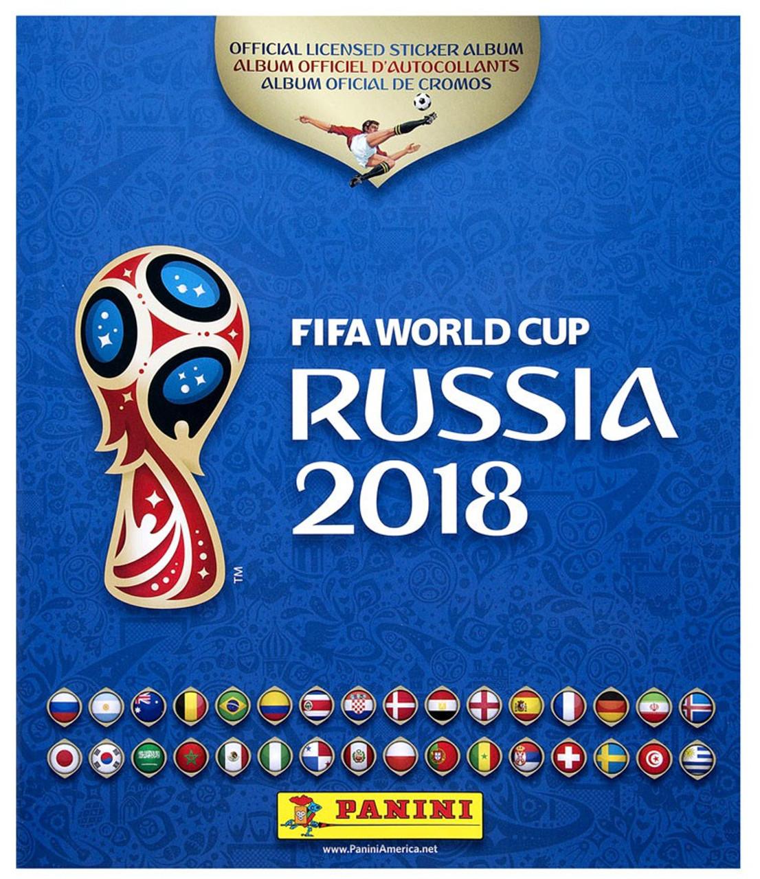 0ef908e9d FIFA World Cup 2018 Soccer Russia Sticker Album Panini - ToyWiz