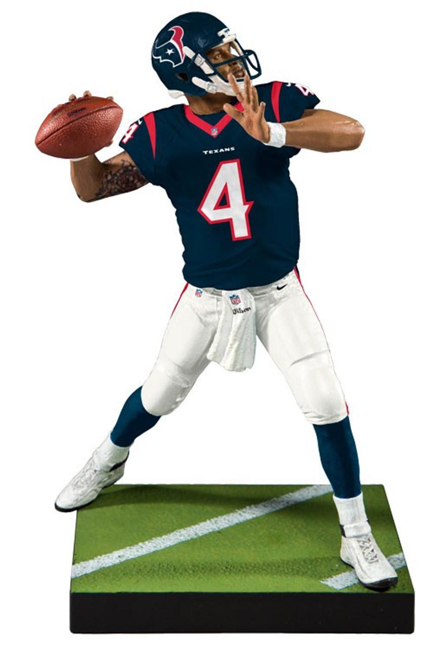 25051c7a4 McFarlane Toys NFL Houston Texans EA Sports Madden 19 Ultimate Team Series  2 Deshaun Watson 7 Action Figure Blue Jersey - ToyWiz