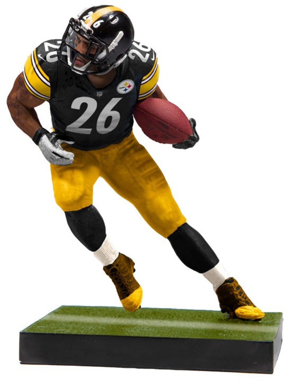 173fccd22 McFarlane Toys NFL Pittsburgh Steelers EA Sports Madden 19 Ultimate Team  Series 2 LeVeon Bell 7 Action Figure - ToyWiz