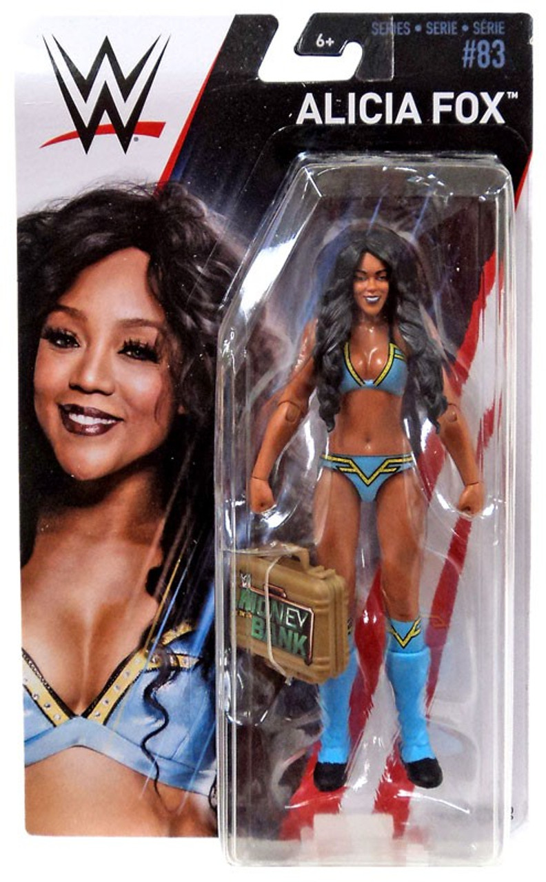 WWE Mattel Alicia Fox série 83 Basic Figure