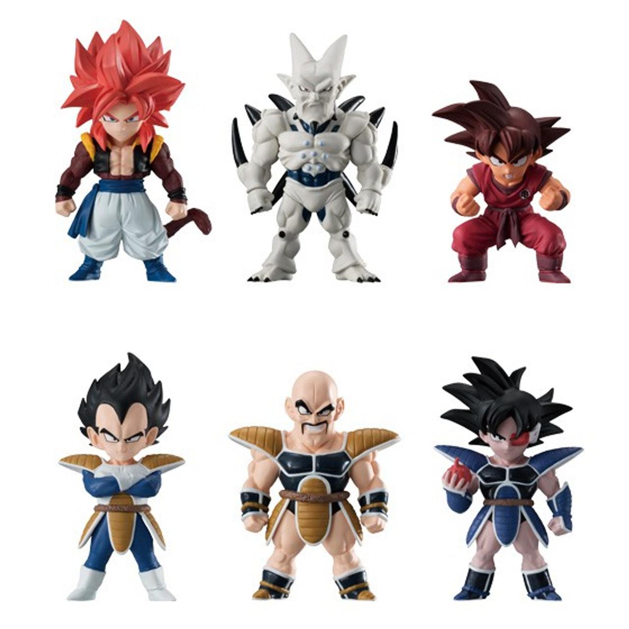 Bandai Dragon Ball Super Adverge 8 Vegeta 2 Inch Figure