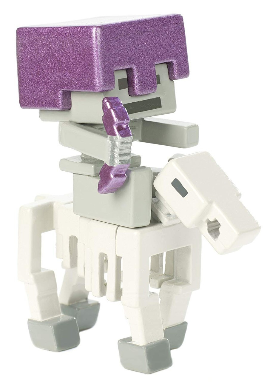 Zombie In Flame Minecraft Netherrack Collectible Figure Wave 3 1.5-Inch Figure