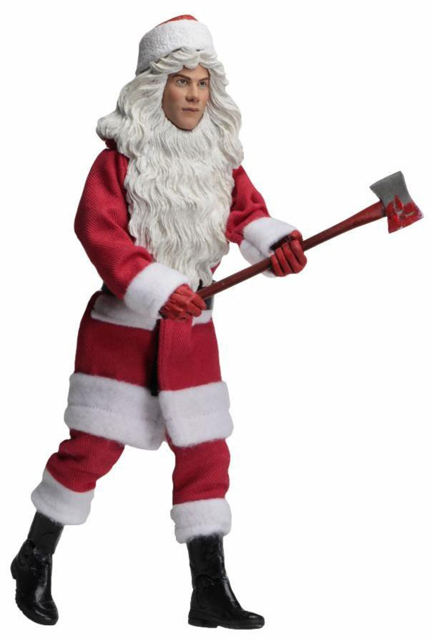 """BILLY CHAPMAN Neca SILENT NIGHT DEADLY NIGHT Clothed 8/"""" Loose 2018 FIGURE"""