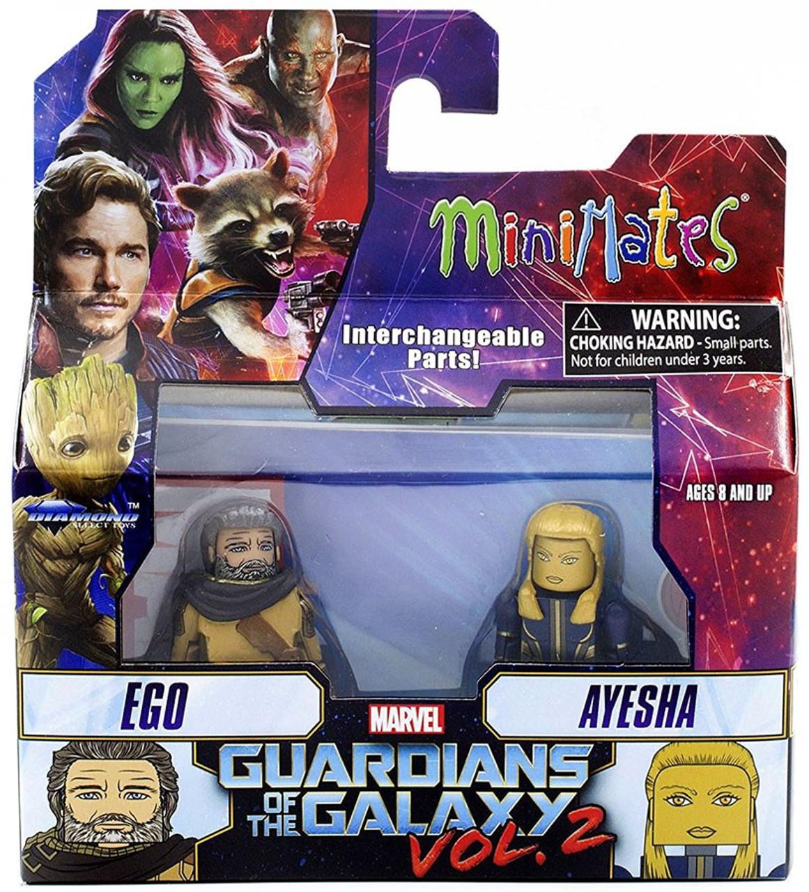2 Movie Ayesha Marvel Minimates Series 71 Guardians of the Galaxy Vol