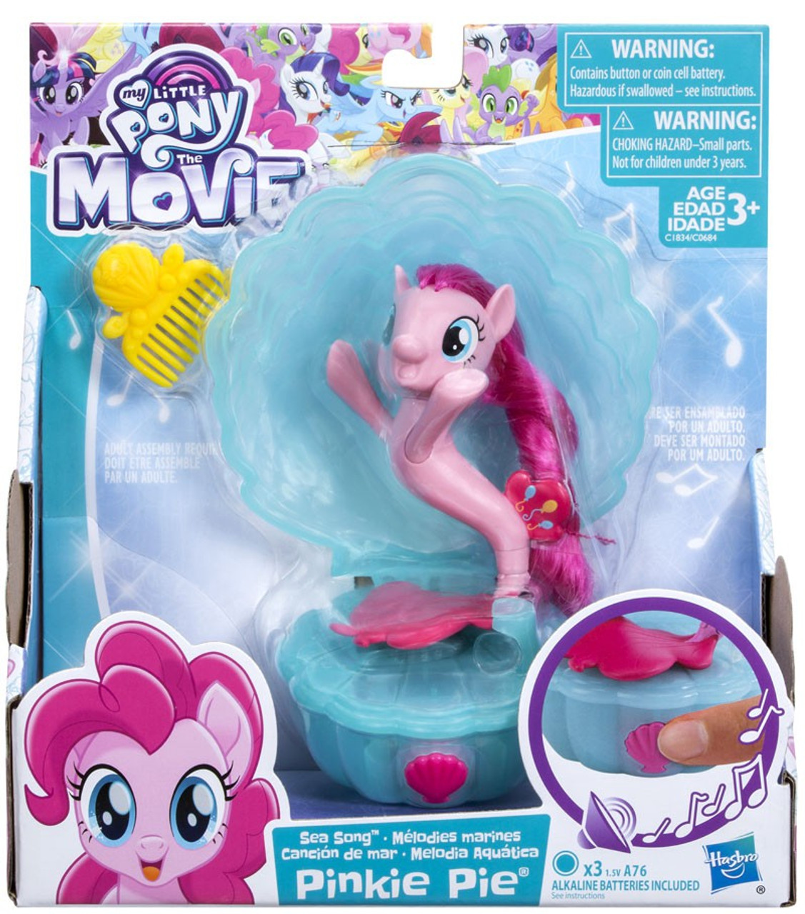 My Little Pony The Movie Pinkie Pie Sea Song Figure Damaged Package Hasbro  Toys - ToyWiz 5b9d7b9b5f