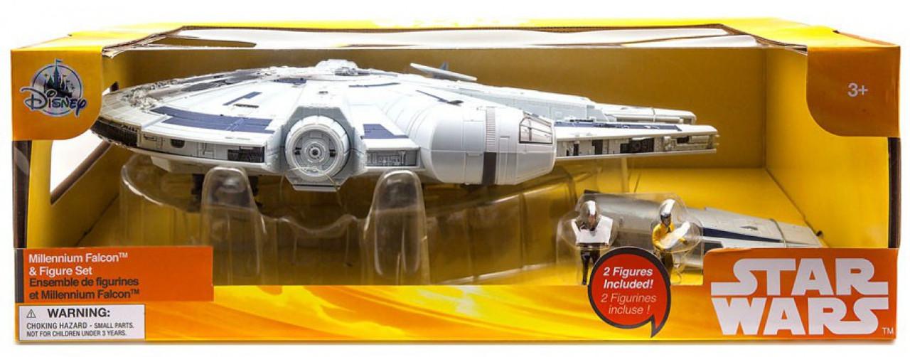 Disney Solo A Star Wars Story Millennium Falcon Figure Set Exclusive