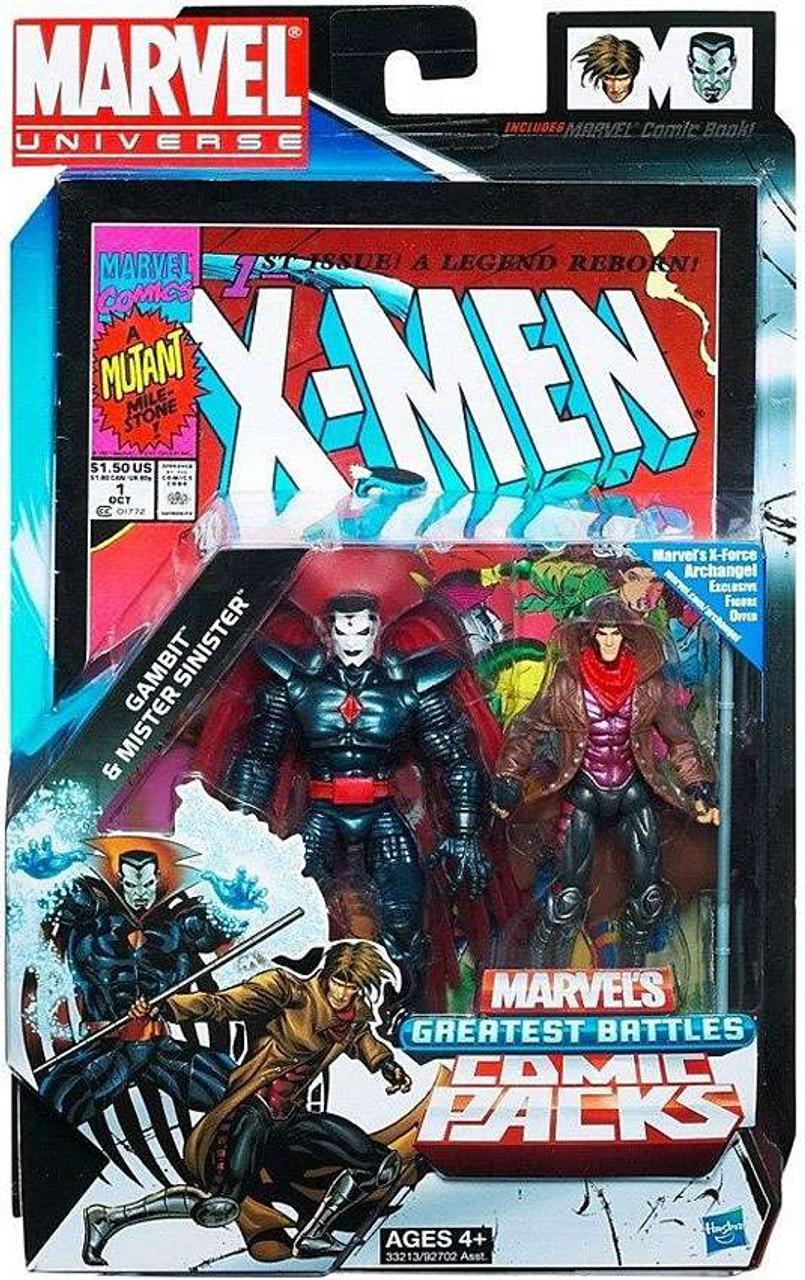 Marvel Universe Gambit & Mister Sinister Action Figure 2-Pack