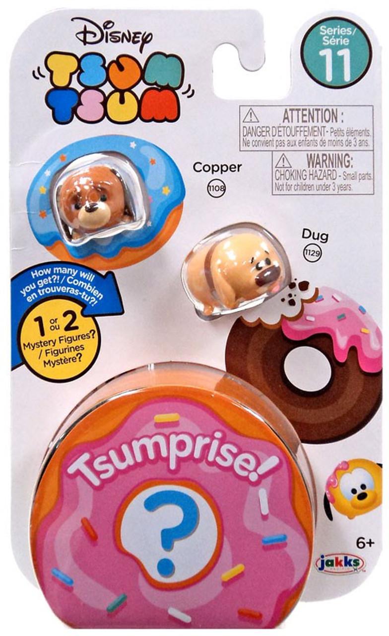 Disney Tsum Tsum Series 11 3-Pack Complete Set of 10 Jack Jack Violet Dug Kuzco