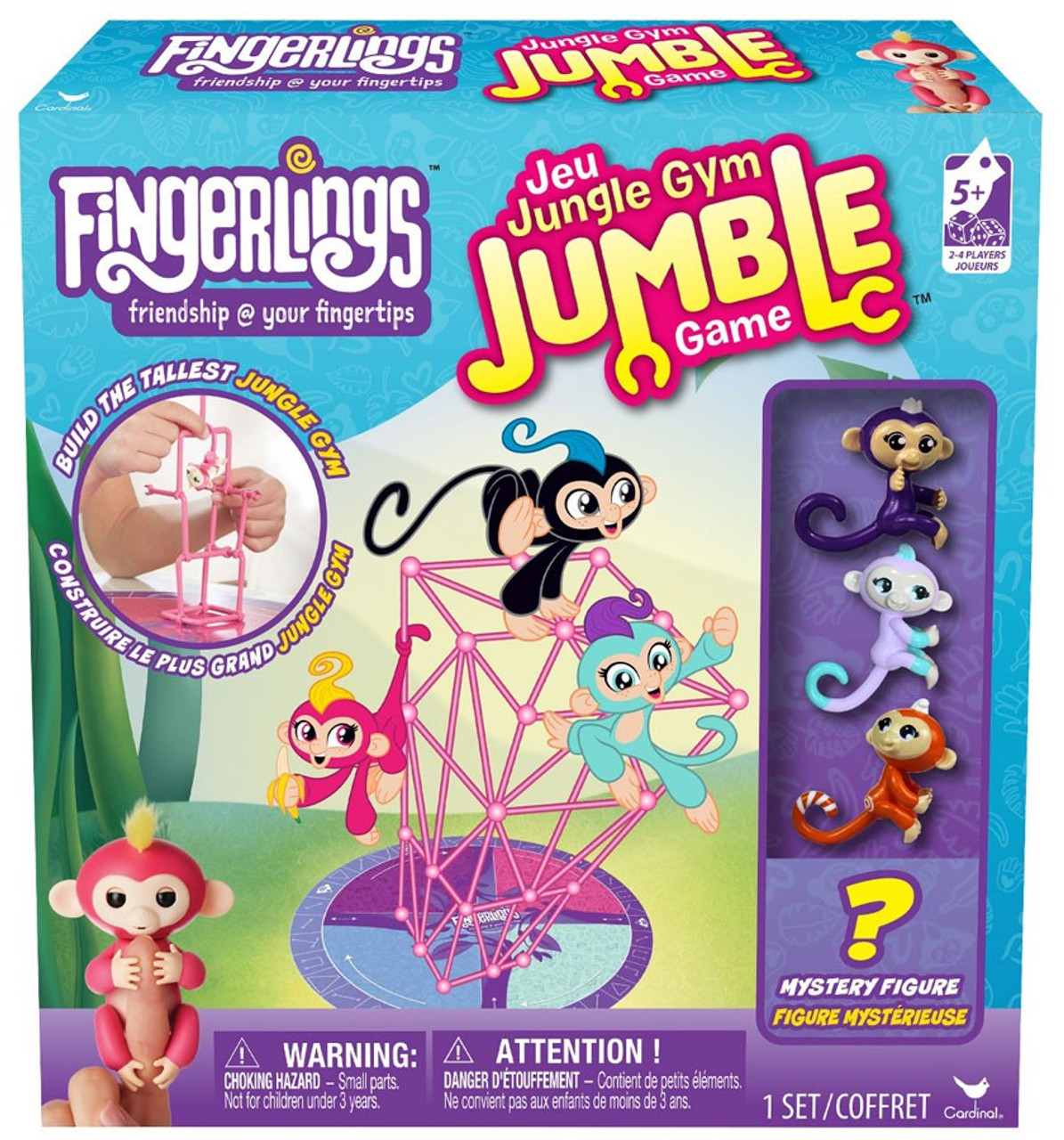 Electronic & Interactive Toys & Hobbies Fingerlings Jungle Gym Playset Liv The Baby Monkey Limited Edition Fingerling